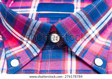 Collar shirt - stock photo