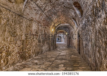 Colle Di Val D Elsa Siena Tuscany Stock Photo (Download Now ...