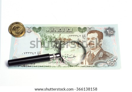 collectibles Coins Banknotes Awards - stock photo