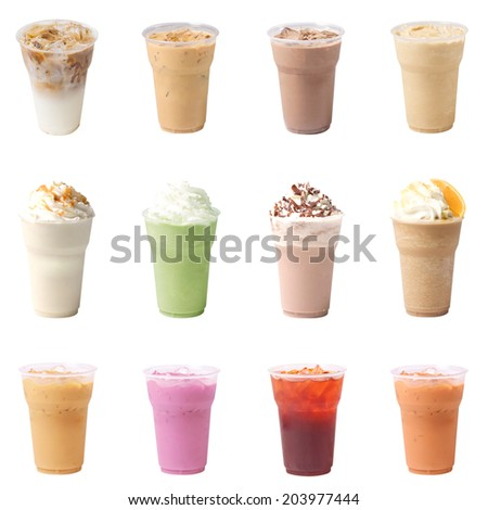 Collection Drinks - stock photo