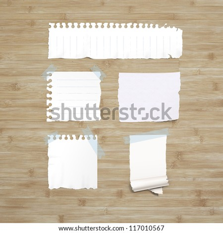 Collection note papers