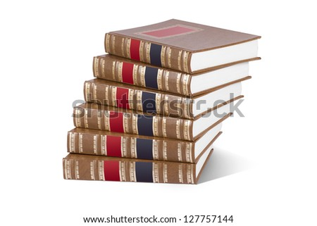 Collection of books - stock photo