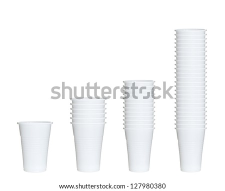 collection of plastic cups