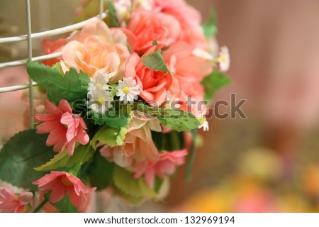 collection of wedding - stock photo