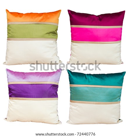 Collection pillow - stock photo