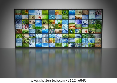 Collections of images - stock photo