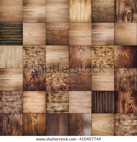 collections wood background