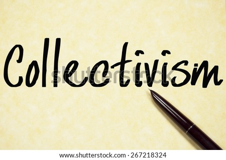 Individualism vs collectivism essay