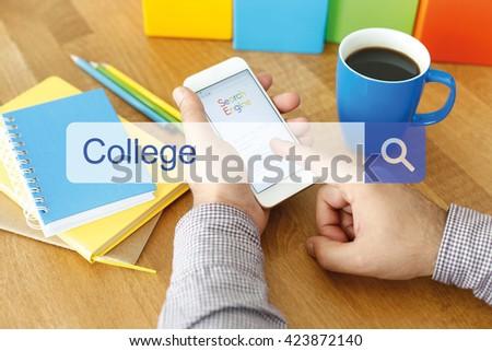 College Concept - stock photo