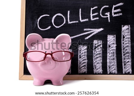 College fund concept. - stock photo