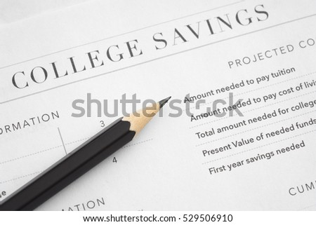 College savings documents repots