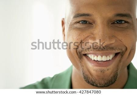 college student portrait over white background - stock photo