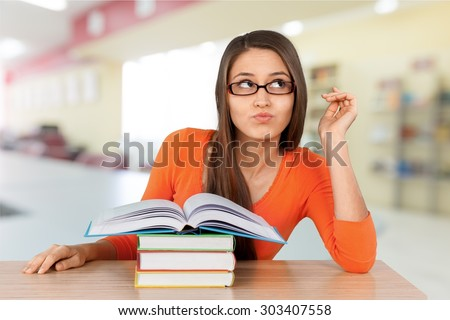 College Student, Student, Asian Ethnicity. - stock photo