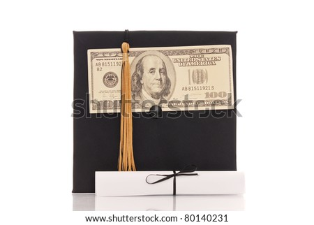 College Tuition Concept - stock photo