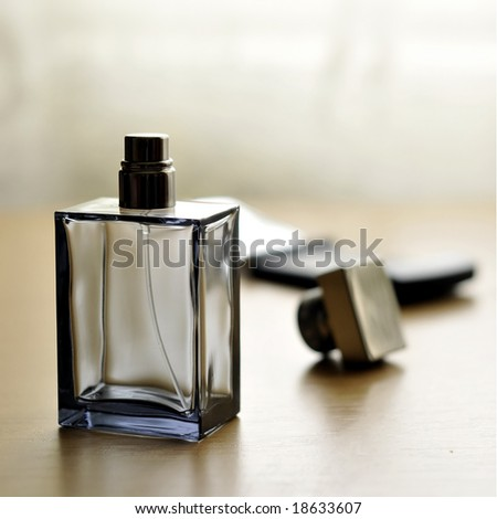 Cologne bottle