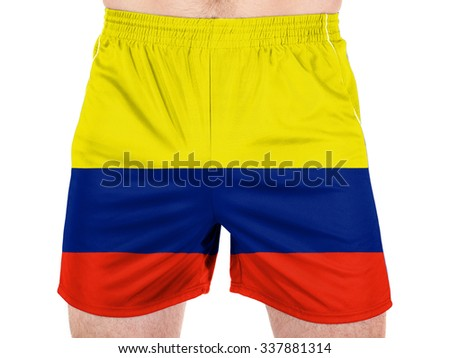 Colombia. Colombian flag  - stock photo