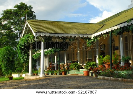 Colonial Bungalow In India