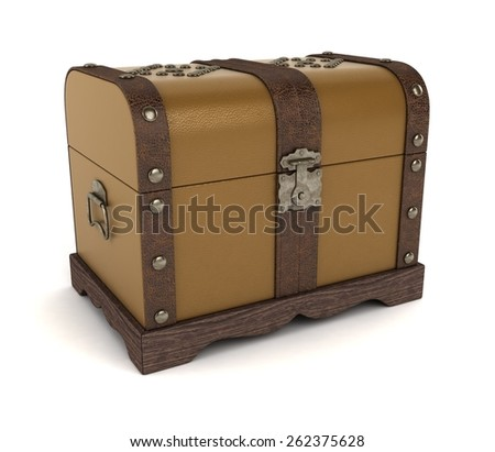 Colonial Trunk - stock photo