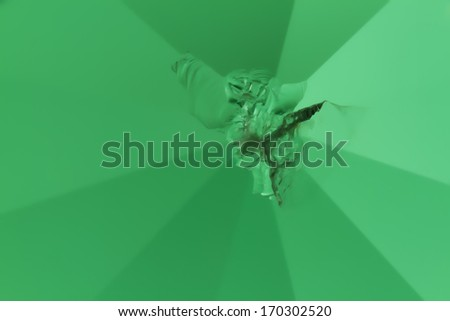 color abstract crystal  cracked glass background