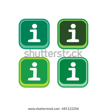 Color App Icon Button Game Asset Stock Illustration 681122206 ...