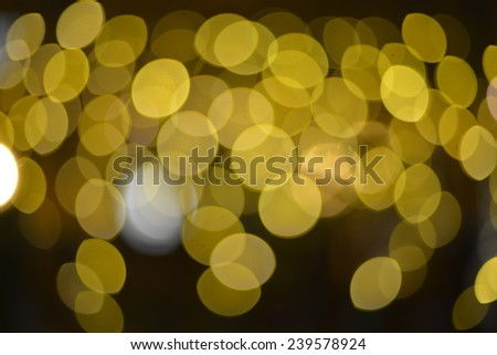 Color background blur. Christmas light. - stock photo