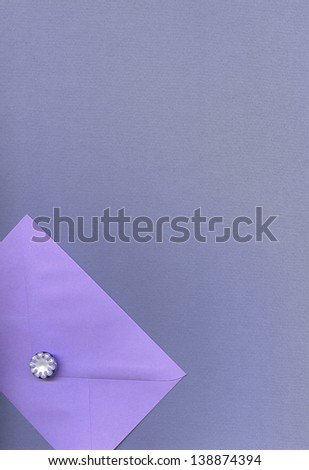 color  background with  envelope - stock photo