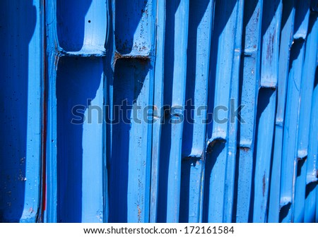 Color Blue bamboo background