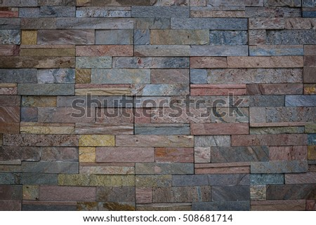 color brick wall texture background