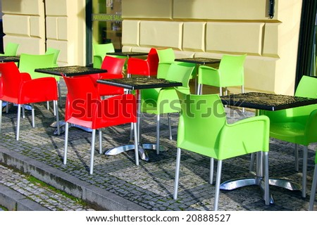 color chairs