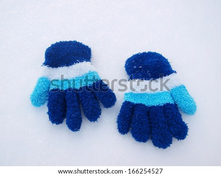 color childrens gloves winter
