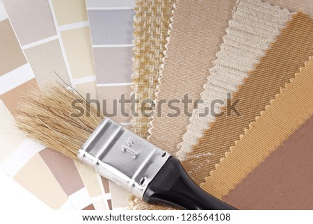 color decoration selection - stock photo