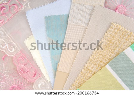 color design pastel  selection for interior