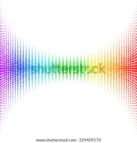 color equalizer. Raster version - stock photo