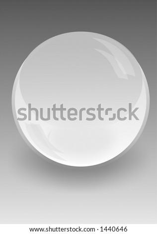 Color glass ball - stock photo