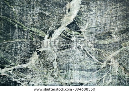 Color green gray abstract natural marble marble patterned texture background - stock photo