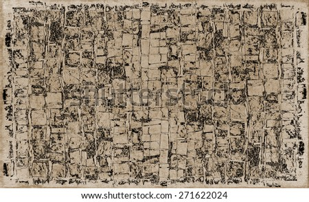 color grunge background of stones and bricks
