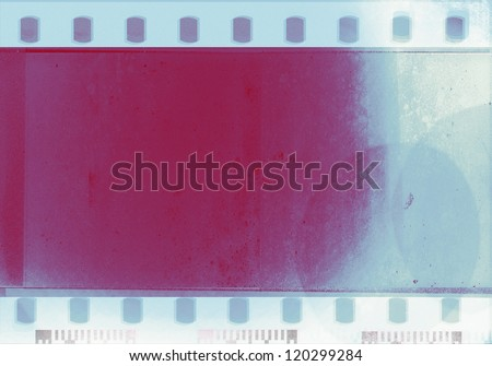 color grunge film background - stock photo