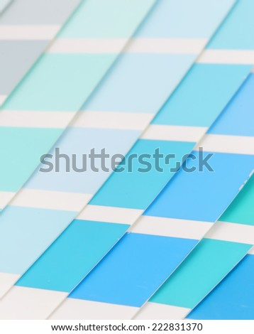 Color guide spectrum background - stock photo