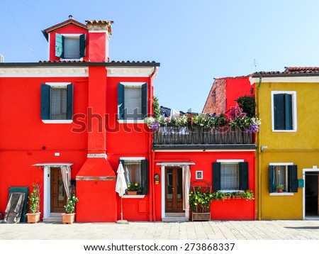 Color Houses italian house stock images, royalty-free images & vectors