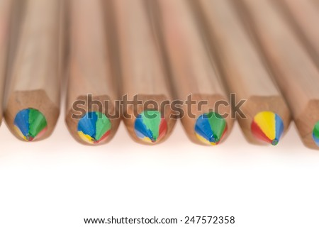 Color lead pencils