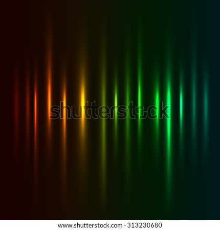 Color light strokes background. - stock photo