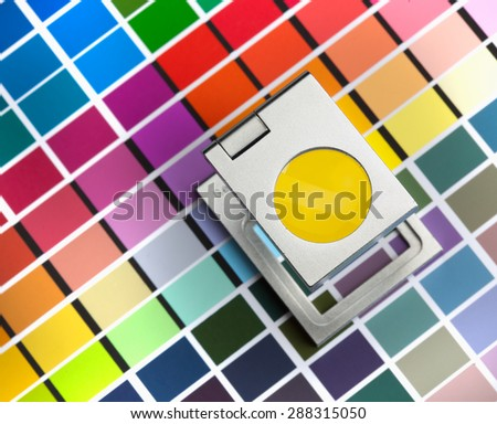 color management - stock photo