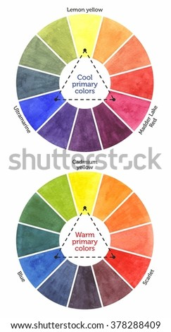 Color Mixing Chart For Watercolor Painting Primary Colors