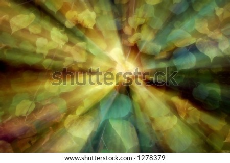 color motion - stock photo