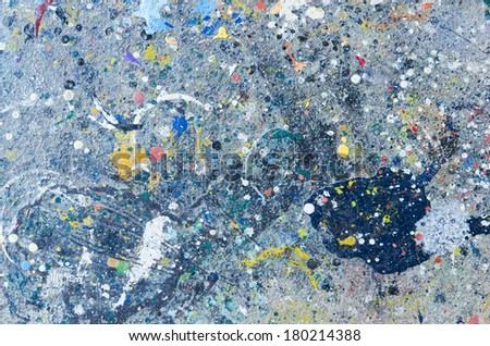 Color on wall ,background - stock photo
