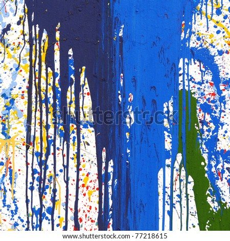 Color Painting for background - stock photo