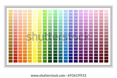 Color Palette Charts Erkalnathandedecker