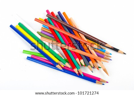Color pencil - stock photo