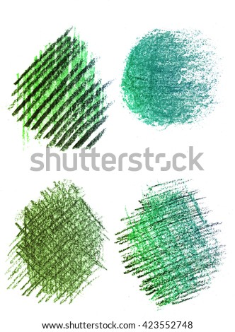 Color pencil  stroke abstract hand drawn bright colorful background pattern