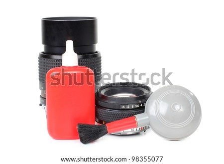 Color photo cleaner kit lenses